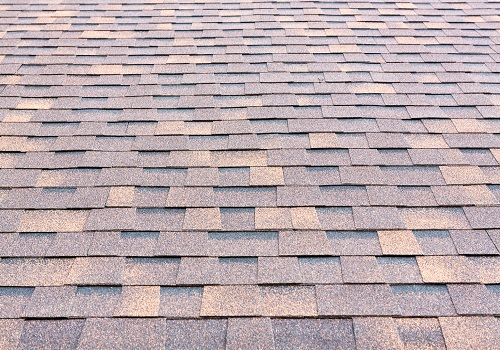 rubber roofing close up