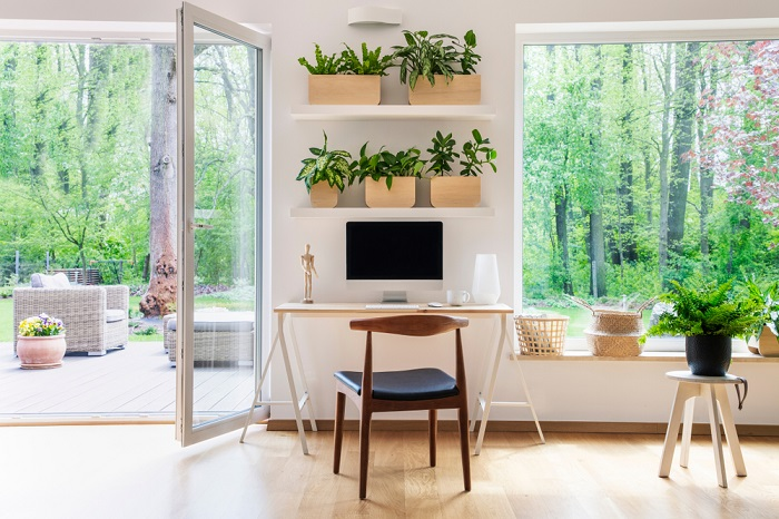 natural lights for home office