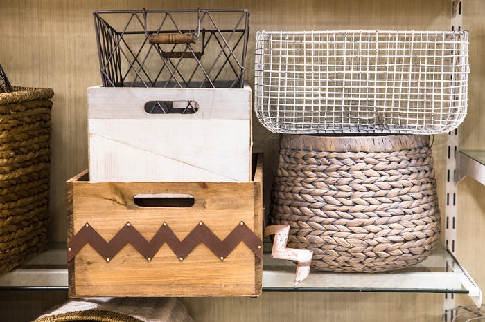 storage organizing baskets