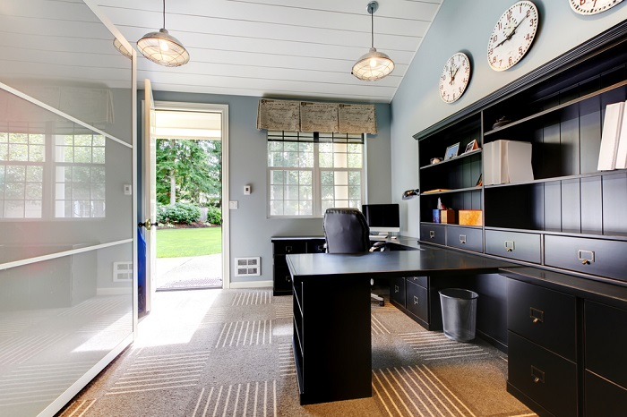 wide desk for home office